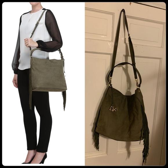 🆕 DVF Boho Fringe Crossbody Bag